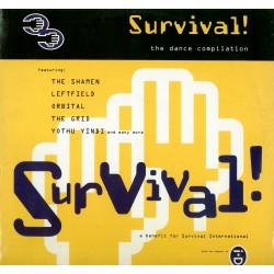"""LP 12"""" survival the dance compilation 5020497100088"""