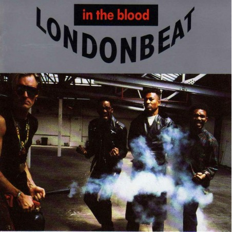 LP LondonBeat in the blood (vinile 33 giri)