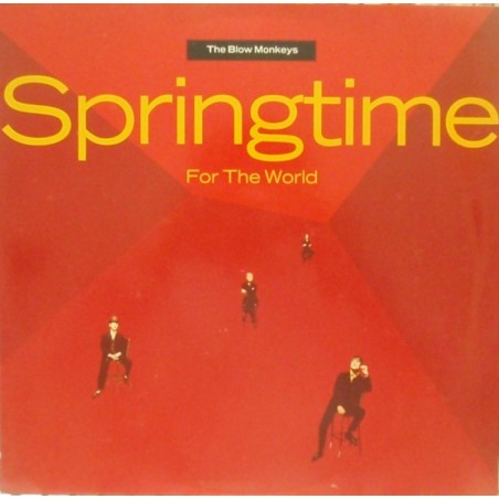 Lp The blow monkeys- springtime for the world