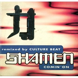 LP Remixed by culture beat SHAMEN comin'on 1993