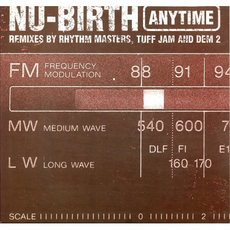 LP Nu-Birth anytime remixes by rythm masters, tuff jam and dem 2