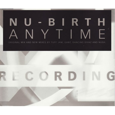 LP Nu-Birth anytime original mix and new mixes by tuff jam and gant 6349041085646