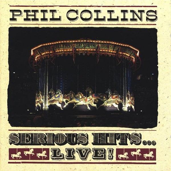 CD Phil Collins- serious hits live