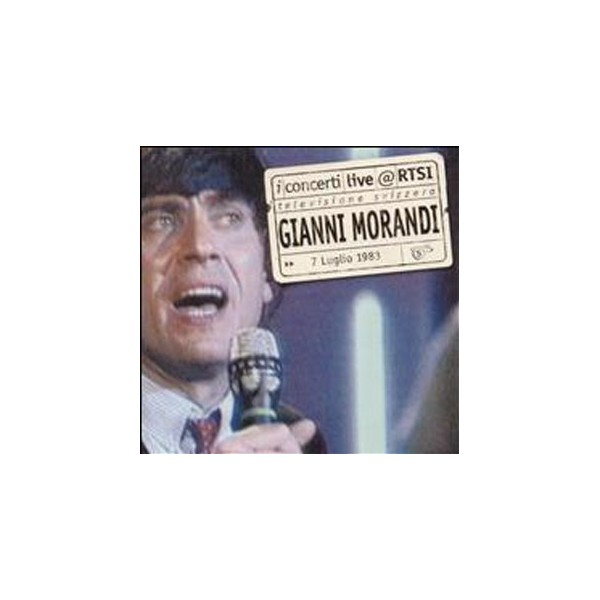 CD I concerti live @ RTSI Gianni Morandi 4029758730423