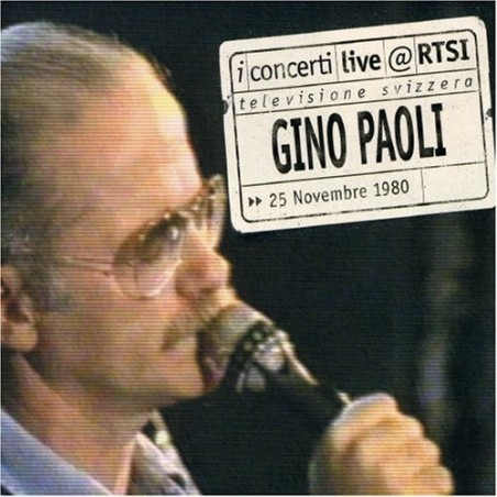 CD I concerti live @ RTSI Gino Paoli 4029758731024