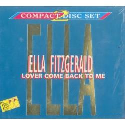 CD Ella Fitzgeraldlover come back to me DOPPIO ALBUM