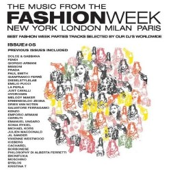 CD The music from the fashion week new york london milan paris