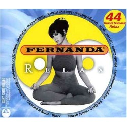 CD Fernanda relax TRIPLO ALBUM