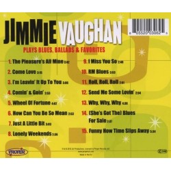 CD JIMMIE VAUGHAN PLAYS BLUES BALLADS & FAVOURITES