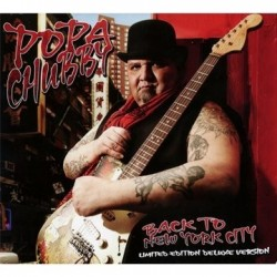 CD POPA CHUBBY BACK TO NEW YORK CITY limited edition deluxe version