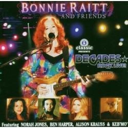 CD BONNIE RAITT AND FRIENDS DECADES ROCK LIVE CD+DVD 094637443521