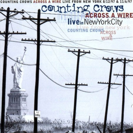 CD Couting Crows- Accross a Wire live in NewYorkCity