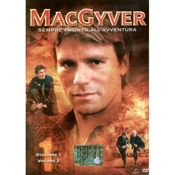 DVD MacGyver stagione 1 PRIMI 4 dvd