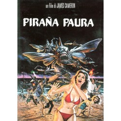 DVD Pirana Paura