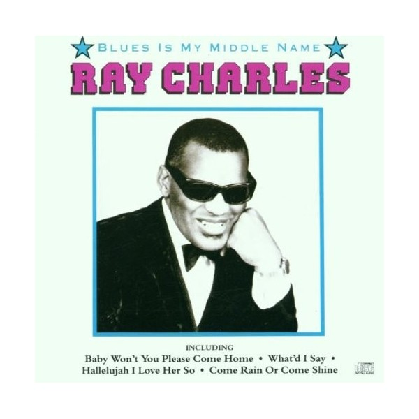 CD Ray Charles Blues is my middle name