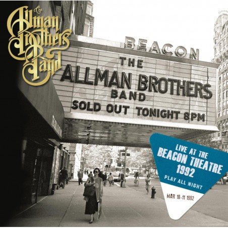 CD The Allman Brothers Band play all night live at the beacon Theatre 1992 (DOPPIO ALBUM) 886919144222