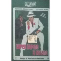 DVD Adriano Celentano - Super rapina a milano