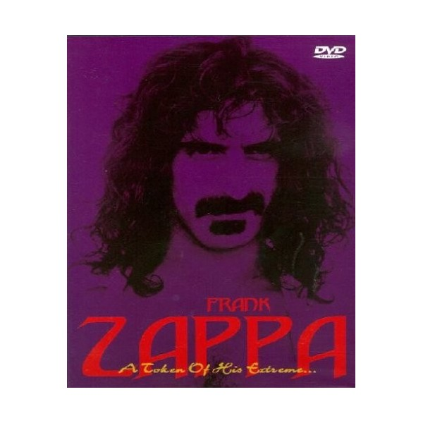 DVD Frank Zappa A token of his extreme 4013659002888