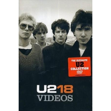 DVD U2 18 VIDEOS 602517138711