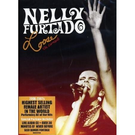 CD+DVD Nelly Furtado loose the concert