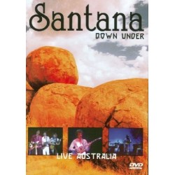 DVD Carlos Santana down under live australia