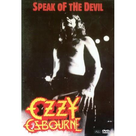 DVD Ozzy Osbourne speak of the devil