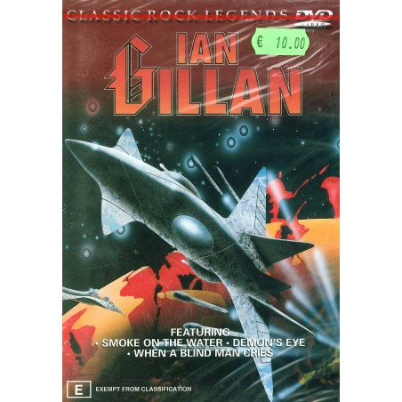DVD Classic rock leggends IAN GILLAN