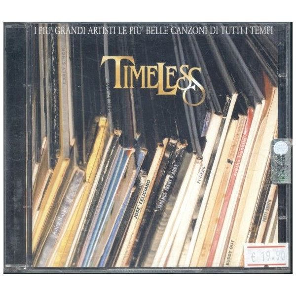 CD Timeless i più grandi artisti le più belle canzoni di tutti i tempi (doppio album)