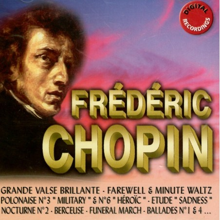 CD ORIGINAL RECORDING Frederic Chopin