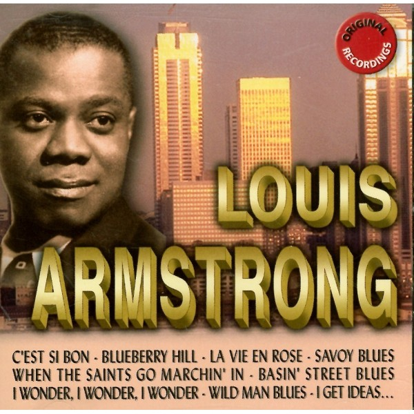 CD ORIGINAL RECORDING Louis Armstrong 3565382005014