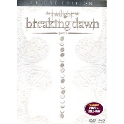 DVD The Twilight saga Breaking Dawn part 1 (2 DVD+1 BLU RAY deluxe edition)
