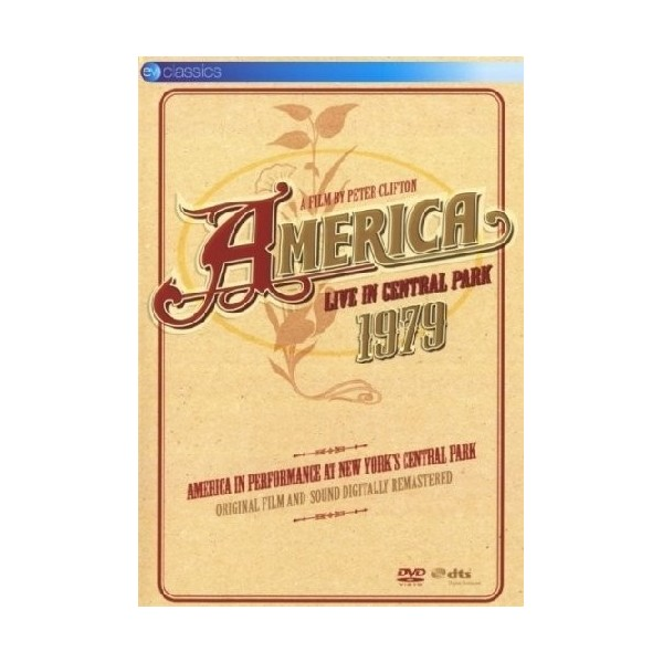 DVD America live in central park 1979