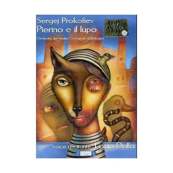 DVD Lucio Dalla sergej prokofiev pierino e il lupo
