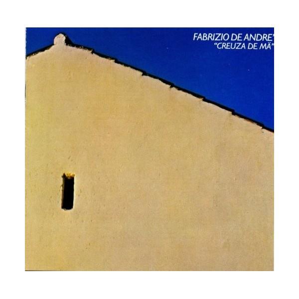 CD Fabrizio De Andrè- creuza de ma