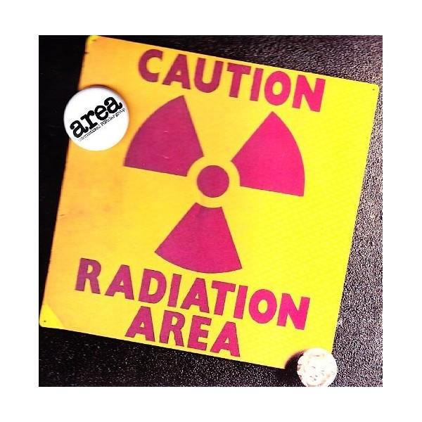 CD Area caution radiation area (con spilletta 2009) 8033224410111