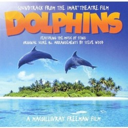 CD Soundtrack from the imax theatre film DOLPHINS