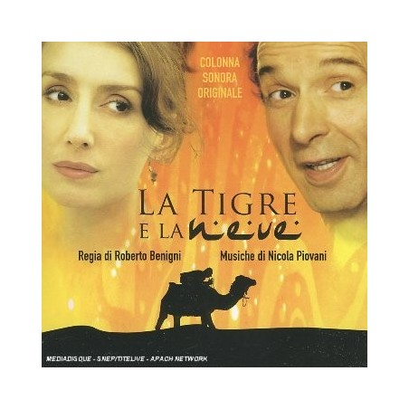 CD La tigre e la Neve Soundtrack