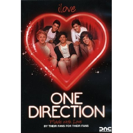 DVD One Direction I Love One Direction