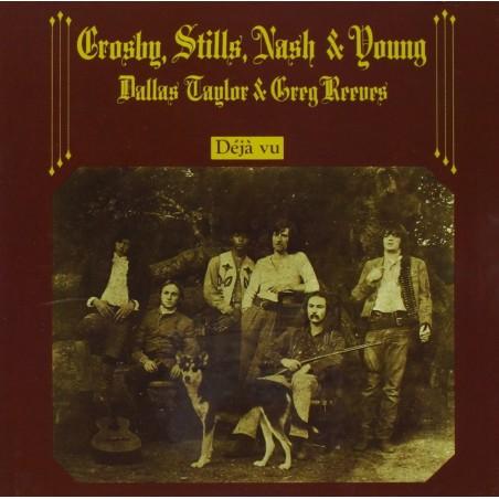 CD Stills, Nash & Young Crosby Deja Vu (DIGITALLY REMASTERED)