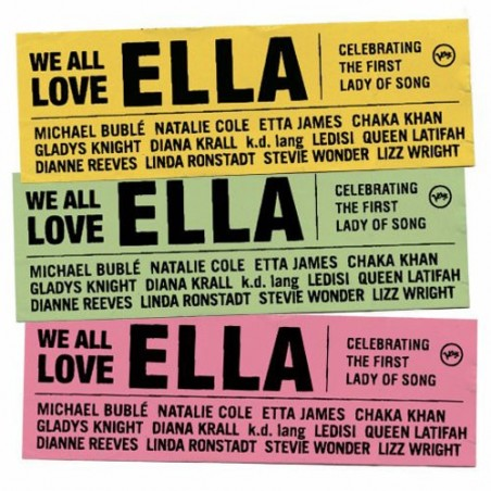CD Ella Fitzgerald we all love ella 602517337329