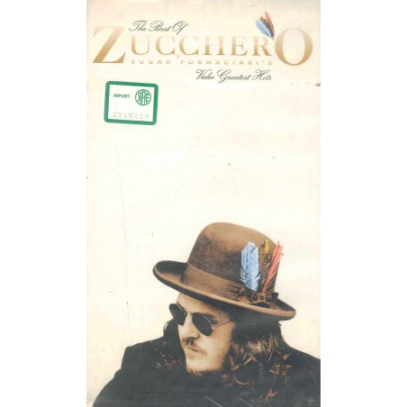 VHS THE BEST OF ZUCCHERO VIDEO GREATEST HITS 044004557030
