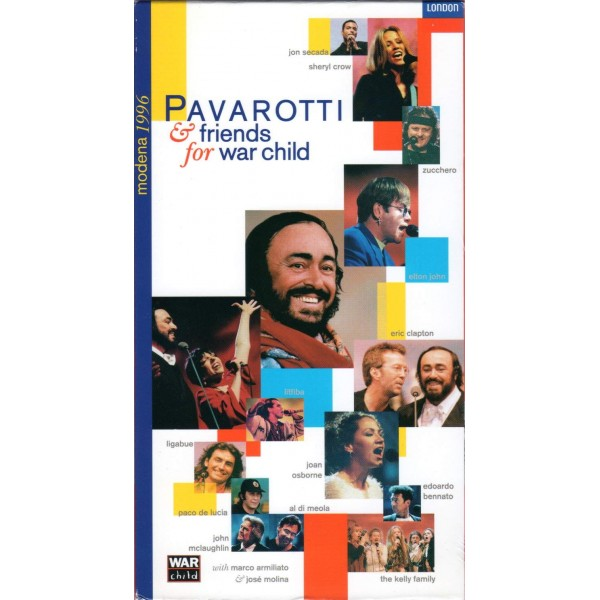 VHS PAVAROTTI & FRIENDS FOR WAR CHILD 044007410233