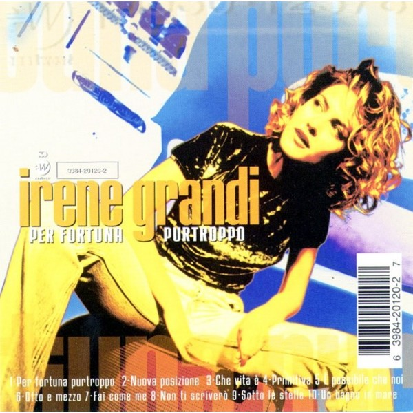CD Irene Grandi-pe fortuna purtroppo 1997 639842012027