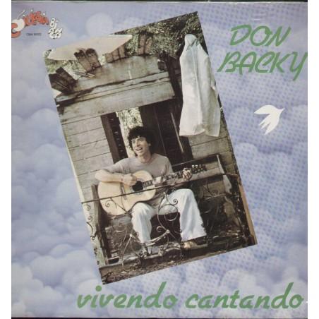 LP Don Backy vivendo cantando - 1979