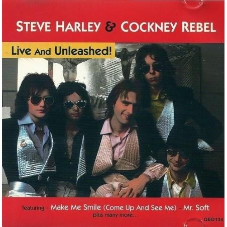 CD STEVE HARLEY & COCKNEY REBEL - LIVE AND UNLEASHED 5031772013429
