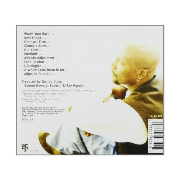 CD GEORGE HOWARD - ATTITUDE ADJUSTMENT 011105983921