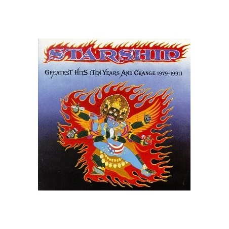 CD STARHIP - GREATEST HITS (TEN YEARS AND CHANGE 79-91) 743212899023
