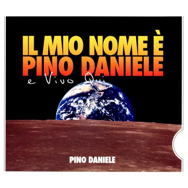 CD Pino Daniele- Il mio nome è Pino Daniele e vivo qui
