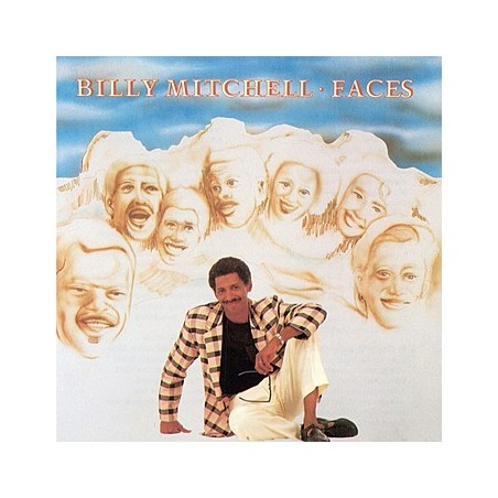 CD BILLY MITCHELL - FACES 1987