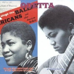 CD ODETTA AT CARNEGIE HALL - BALLAD FOR AMERICANS AND OTHER AMERICAN BALLADS 8026575039223
